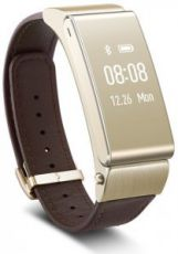 Умный браслет Huawei Talkband B2 gold / leather